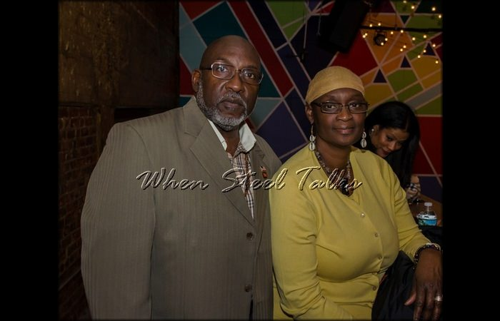 Mr. & Mrs. K. Marcelle at the Homegrown concert