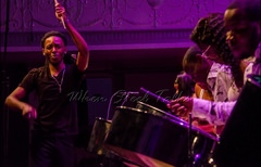 Arranger Damany James with Verona Steel Orchestra