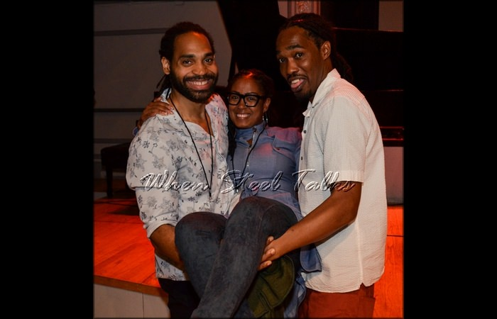 Pan Is Sweet Judges -- Khuent Rose, Renee Ogiste and Freddy Harris, III. Not picured - Josh Quillen